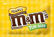 M&M's Peanut Chocolate, Classic Candy (23 lbs) Bulk of Fun Size Snacks in a B...