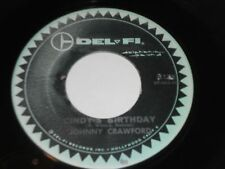 "JOHNNY CRAWFORD Cindy's Birthday 45 Something Special 4178 Del-Fi 7"" Vinyl"