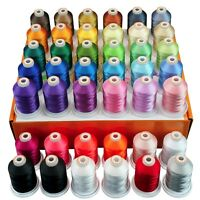 Polyester Embroidery Machine Thread Kit 42 Spools -1100YD Each
