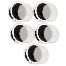"Theater Solutions TS65A In Ceiling 6.5"" Angled Home Theater 5 Speaker Set"