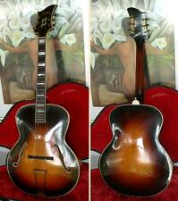 Rare & Vintage LEVIN ROYAL archtop jazz guitar from 1942  --> look!