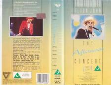 ELTON JOHN THE AFTERNOON  CONCERT  VHS PAL VIDEO~A RARE FIND