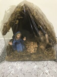 vintage nativity set made in italy