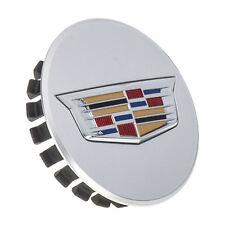OEM NEW Wheel Hub Center Cap Silver w/Crest Logo 16-19 ATS CT6 CTS XT5 19351813