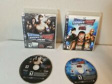 Playstation 3 PS3 WWE SmackDown vs. Raw 2008 AND 2010 (2 Games) Free Ship