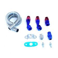 """17"""" t3/t3 t4 gt35 t04b gt45t67 t66 t70 turbo braided oil drain return line kit"""