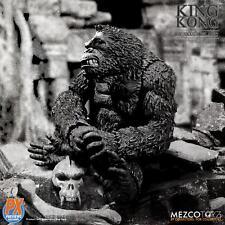 18cm The King Kong Of Skull Island Figure Model PX Limited Black&White Ver. Toys