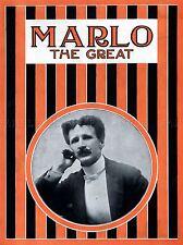 Marlo il grande mago Vintage Pubblicità repro poster art print 538pylv