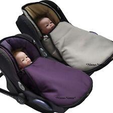 BAMBINIWELT Winterfußsack Fußsack für Babyschale von MAXI-COSI mit FLEECE