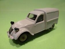 NOREV PLASTIC  1:43  CITROEN  2CV BREAK  -  PLASTIK  26  - GOOD CONDITION