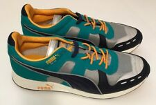 New Puma Men's Shoes RS100 AW Limestone Peacoat 04 Sneakers Size 12 New