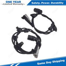2PCS Rear ABS Wheel Speed Sensor For 1996-2002 Toyota 4Runner 2.7L 3.4L