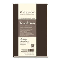 """Strathmore 62462311  Toned Mixed Media Paper Toned Grey 11/""""X14/"""""""