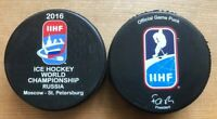 Russia 2016,  IIHF Official game puck