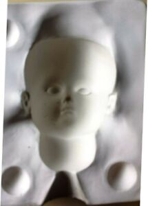 VINTAGE SEELEY XI LADY 108 DOLL HEAD MOLD & XI 108 310 SHOULDER PLATE MOLDS