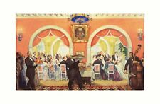 More details for ilya repin - the wedding feast 1917 print 61x91.5cm