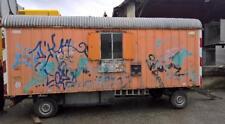 Bauwagen  Baubude Container 2-Achser  600cm mit WC / Fäkaliemtank    Nr. VE1