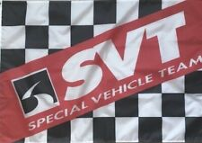 Ford SVT Performance Special Vehicle Team Flag 3x5 Garage Banner Shelby Cobra