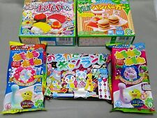 5 PCS Kracie DIY making kit Happy Kitchen popin cookin Japanese candy Japan food