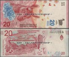 Argentina,Pnew,2017,20 Pesos,Uncirculated @Ebanknoteshop