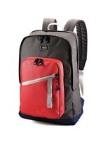 """American Tourister 18"""" Key Stone Backpack - Red/Grey"""