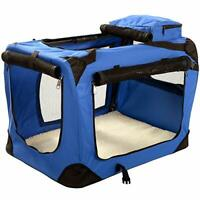 Lightweight Fabric Pet Carrier Crate for Dogs, Cats or Small Animals