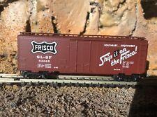 N Scale Micro trains 40' plug door boxcar Slsf Frisco