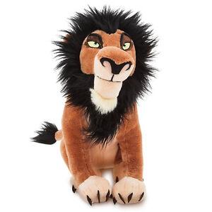 Disney The Lion King Scar Plush Soft Stuffed Doll Toy 35 cm Tall