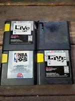NBA Live 95 96 97 98 EA Sports lot - basketball (Sega Genesis) - Cartridge ONLY