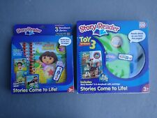 Story Reader Toy Story 3 and Nickelodeon Dora Stories Come To Life Disney Pixar