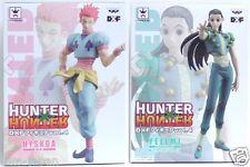 Lot of 2 Hunter x Hunter Figure  Hisoka  & Illumi Hyskoa Yellmi DXF VOL 4 F/S