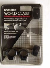 Tasco World class Browning A BOLT Scope Rings & Bases Set Free Shipping