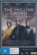 The Hollow Crown Season One DVD NEW Richard II Henry IV V Jeremy Irons