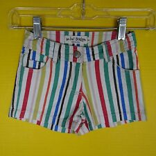 Mini Boden Cotton Blend Shorts (2-16 Years) for Girls