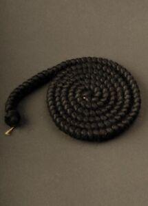 Fancy Dress Theatre Quality False Hair Cosplay Crepe Wool Black