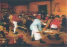 3-D der Bauer Hochzeit von Bruegel Linsenförmiges 3D Postkarte