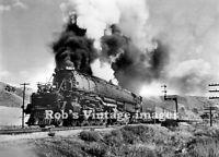Union Pacific Photo Big Boy Steam Locomotive 4019 Railroad UP train 4-8-8-4