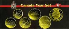 2017 CANADA  Year Set Plated Gold 24k