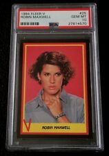1984 Fleer V The Series PSA 10 #25 Robin Maxwell Enemy Visitor 80s TV Show Alien