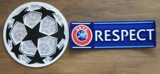 UEFA Champions League Football Soccer Patch Ball And Respect Patches 2012-2019