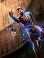 """Hot Toys MMS448 The Flash Barry Allen Justice League 1/6 12"""" Action Figure Model"""