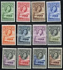 BECHUANALAND 1955 SG 143-153 SC 154-165 OG VF MLH * SCARCE COMPLETE SET 11 STAMP