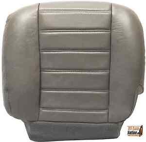 2003 2004 2005 2006 2007 Hummer H2 Driver Side Bottom Vinyl Seat Cover Gray