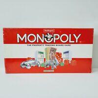 1995 Waddingtons Monopoly Board Game New Old Stock UK Edition Sealed Shelfwear