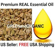 Premium REAL AJOWAN ESSENTIAL OIL PURE Ajwain Carom Seed Caraway Cold Press 5 ml