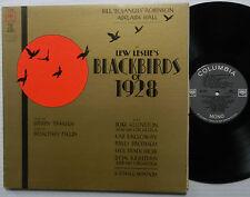 Lew Leslie's BLACKBIRDS OF 1928 soundtrack LP Musical Revue