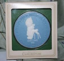 Betsey Clark Christmas 1981 Cameo Keepsake Ornament New