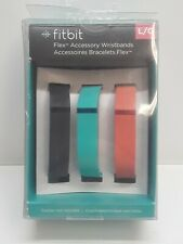 Fitbit Flex Accessory Wristbands 3 Bands Size Large Open Box Free Shipping