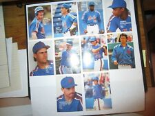 Broder NY Mets 1988,10 cards,