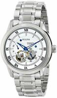 New Bulova Watch BVA Series Dual Aperture Dial Watch 96A118 Automatic Mens Watch